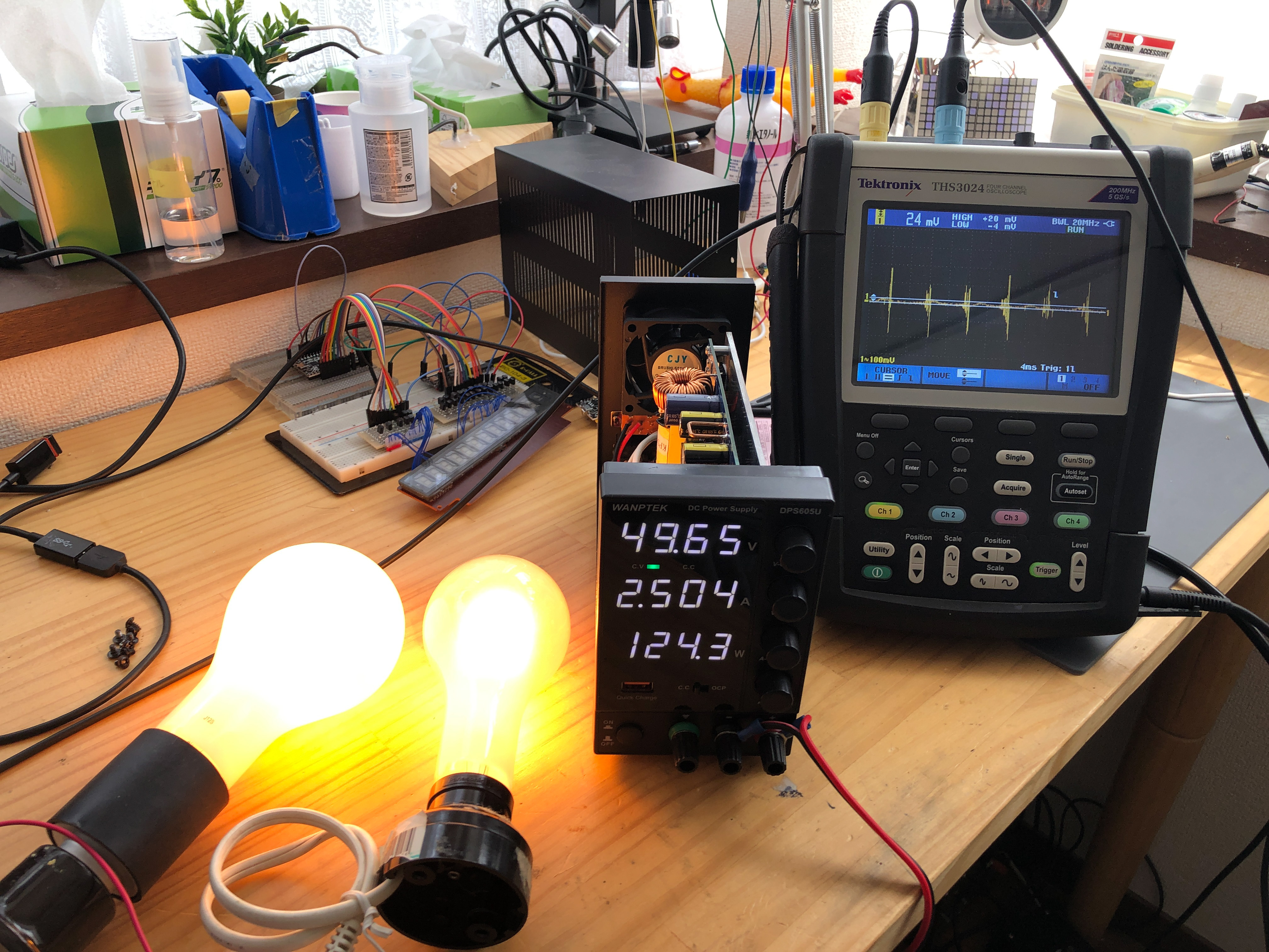 DPS605Uの負荷実験